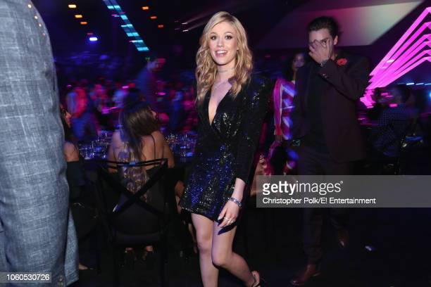 Actor Katherine McNamara attends the 2018 E People's Choice Awards held at the Barker Hangar on November 11 2018 NUP_185072