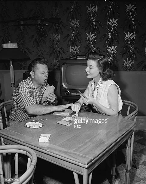Actor Mickey Rooney and wife Actress Elaine Devry Photo by Gerald Smith/NBCU Photo Bank