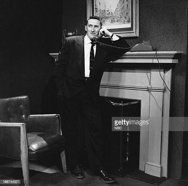 Actor Mickey Spillane in 1956
