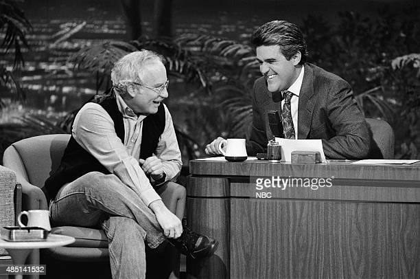 Actor Richard Dreyfuss during an interview with guest host Jay Leno on January 29 1991