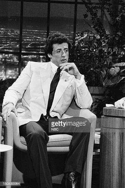 Actor Sylvester Stallone on July 31 1981