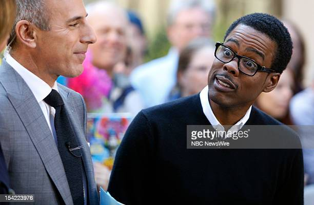 Actor/comedian Chris Rock appears on NBC News' Today show