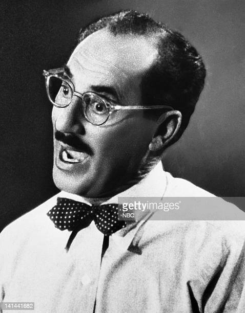 Actor/comedian Groucho Marx Photo by NBC/NBCU Photo Bank