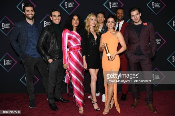 Actors Matthew Daddario Alberto Rosende Alisha Wainwright Katherine McNamara Harry Shum Jr Emeraude Toubia Isaiah Mustafa and Dominic Sherwood...