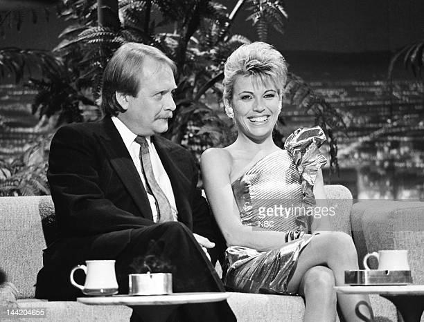 Actor/singer Martin Mull game show hostess Vanna White on October 27 1986