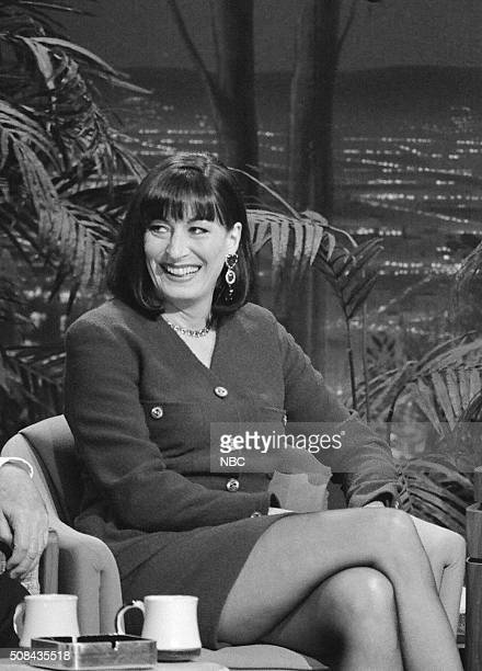 Actress Anjelica Huston during an interview on December 6 1991