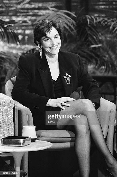 Actress Brooke Adams during an interview on February 21 1991