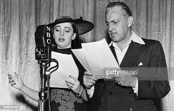 Actress Elaine Barrie with husband actor John Barrymore in 1939