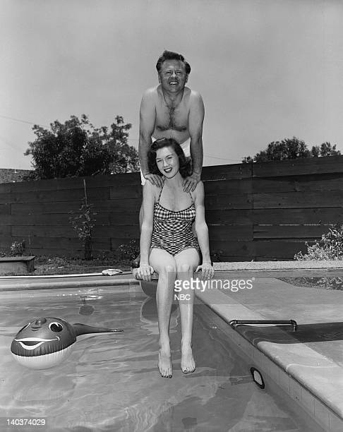 Actress Elaine Devry and husband Actor Mickey Rooney Photo by Gerald Smith/NBCU Photo Bank