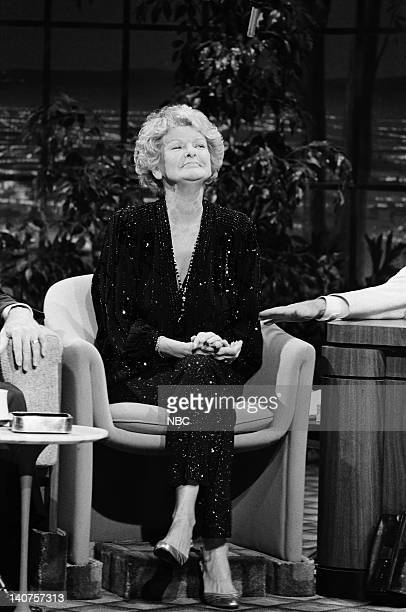 Actress Elaine Stritch Photo by Gary Null/NBC/NBCU Photo Bank
