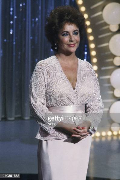 actress elizabeth taylor in the 1980s