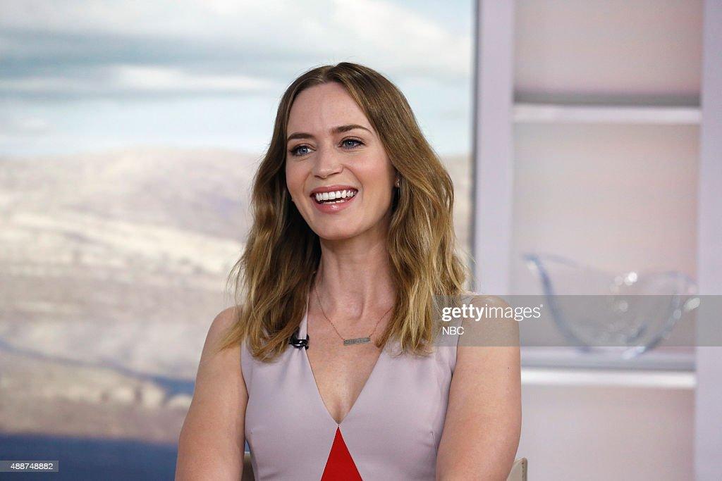 "NBC's ""Today"" With Guests Jessica Lynch, Duran Duran, Sarah Jessica Parker, Emily Blunt, Elijah Wood"
