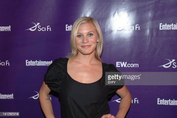 Pictured: Actress Katee Sackhoff of Battlestar Galactica arrives to the Sci-Fi party at the 2007 Comic-Con in San Diego, Ca -- Photo by: Ken...