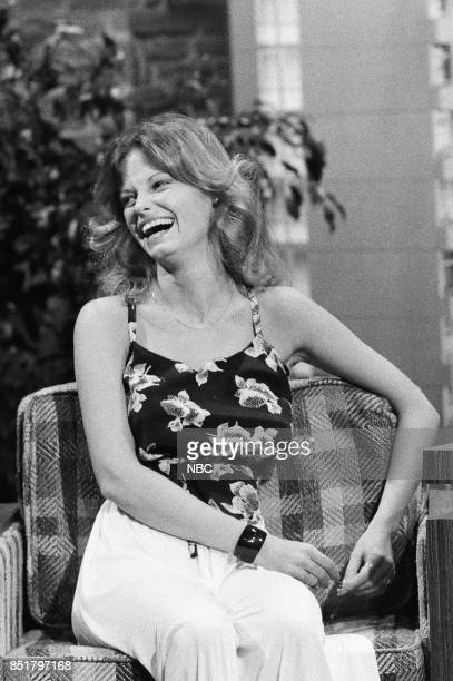Actress Kay Lenz during an interview with guest host David Brenner on October 21 1976
