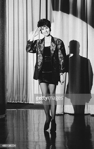Actress Lucie Arnaz arrives on January 24 1991