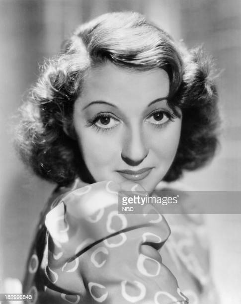 Actress Mary Livingstone in 1938