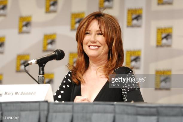 Pictured: Actress Mary McDonnell during the Battlestar Galactica panel at the 2007 Comic-Con Convention in San Diego, Ca -- Photo by: Ken Jacques/SCI...
