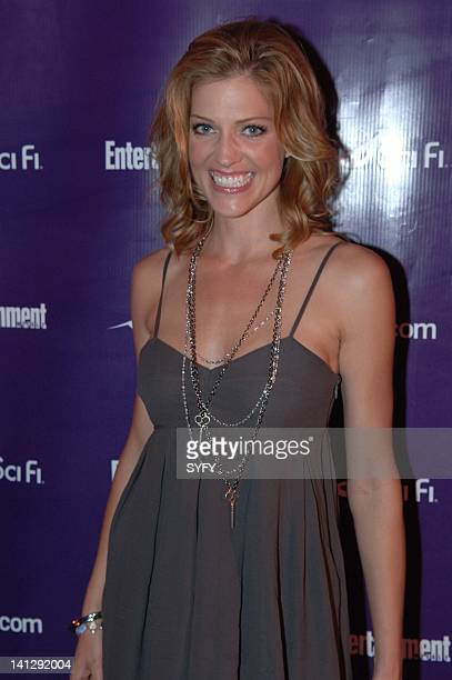 Pictured: Actress Tricia Helfer of Battlestar Galactica arrives to the Sci-Fi party at the 2007 Comic-Con in San Diego, Ca -- Photo by: Ken...