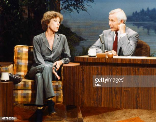 Actress/comedian Carol Burnett host Johnny Carson on August 10 1979