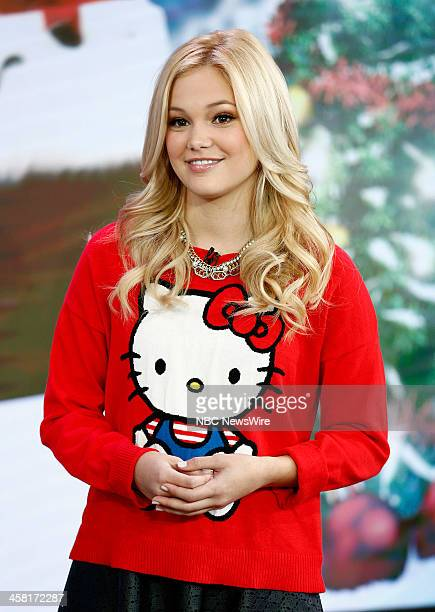 Actress/singer Olivia Holt appears on NBC News' 'Today' show on December 20 2013