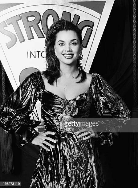 Pictured: Actress/singer Vanessa Williams during the 22nd NAACp Image Awards held at The Wiltern Theatre on December 9, 1989 --
