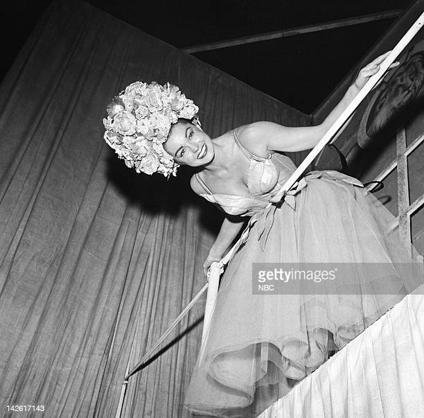 Pictured: Actress/swimmer Esther Williams in 1956 --