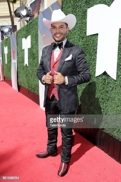 Adal Loreto on the red carpet at the Mandalay Bay Resort and Casino in Las Vegas NV on April 26 2018