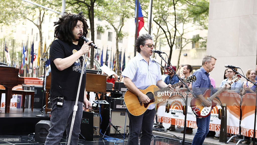 """NBC's """"Today"""" With Guests Counting Crows, Seth Green"""