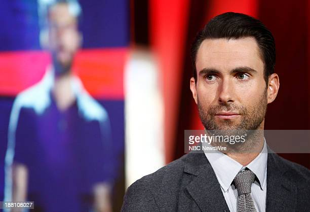 Adam Levine appears on NBC News' Today show
