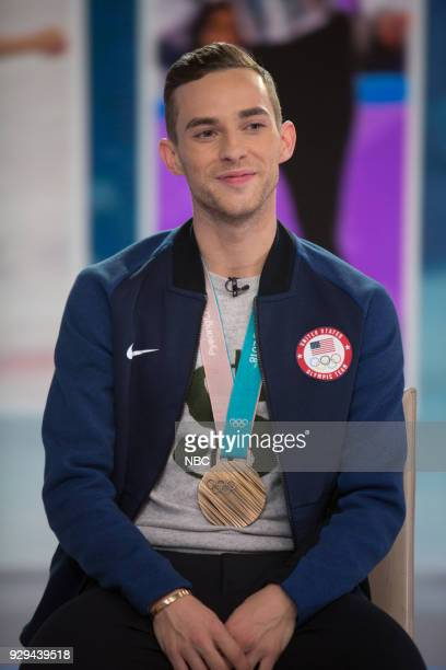 Adam Rippon on Thursday Mar 8 2018