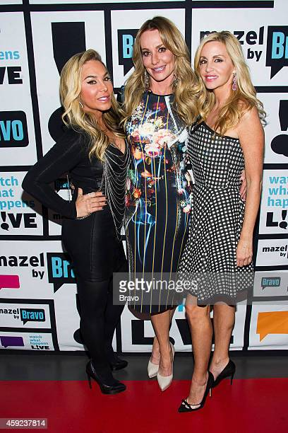 Adrienne Maloof Taylor Armstrong and Camille Grammer