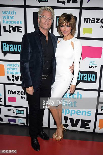 AHarry Hamlin and Lisa Rinna