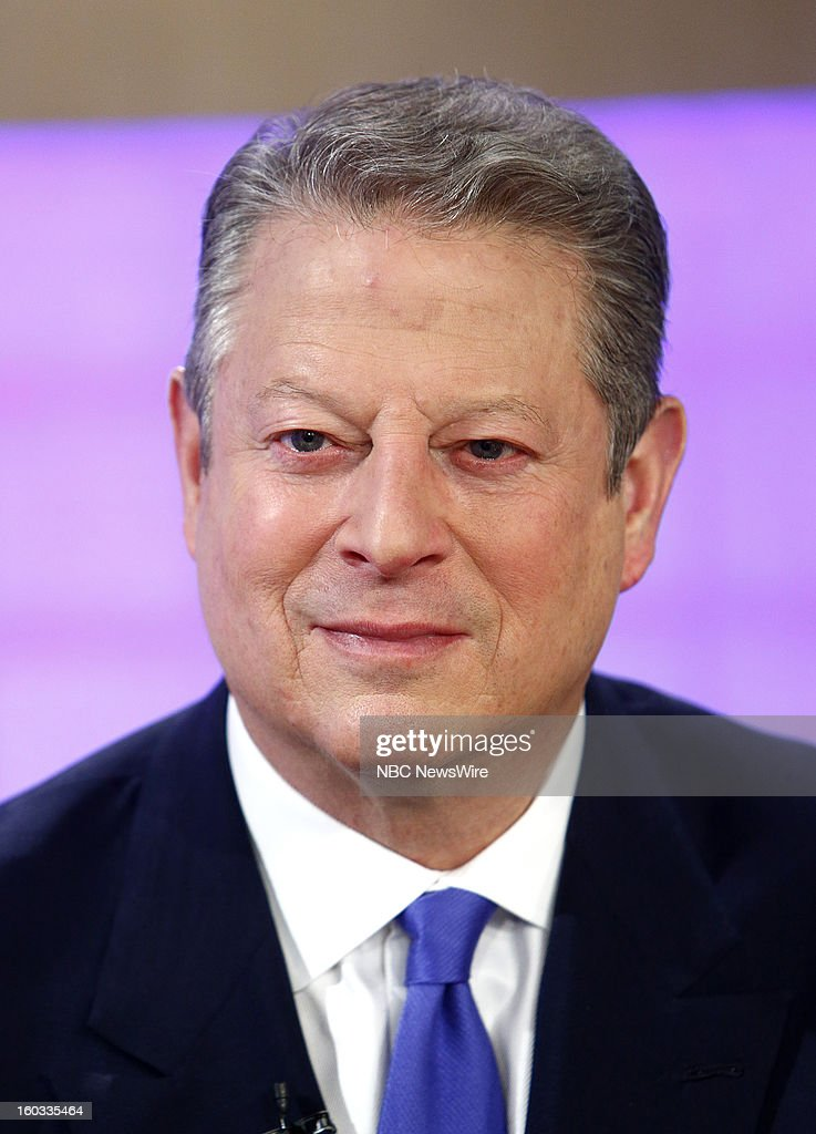 Al Gore appears on NBC News' 'Today' show --