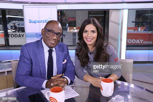 Al Roker America Ferrera on Wednesday September 21 2016