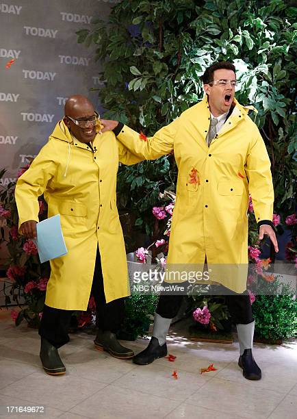 Al Roker and Carson Daly appear on NBC News' 'Today' show