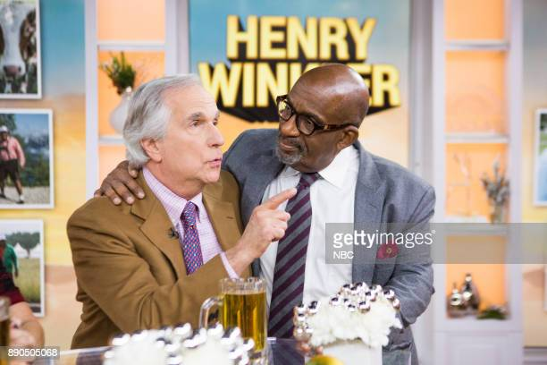 Al Roker and Henry Winkler on Monday December 11 2017