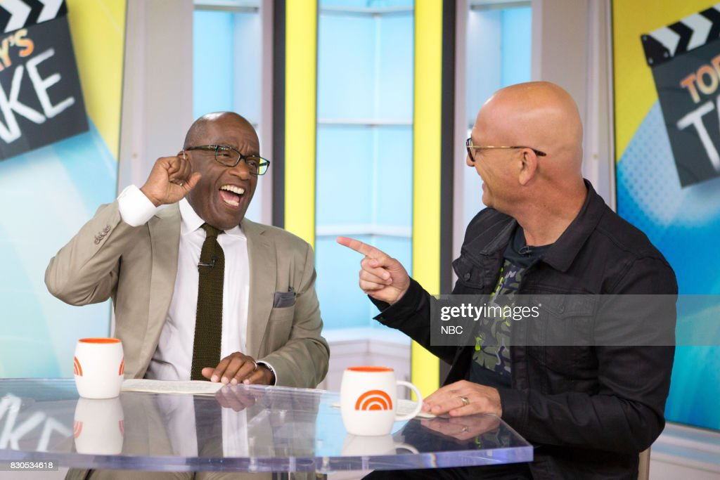 Al Roker, and Howie Mandel on Friday, Aug.11, 2017 --