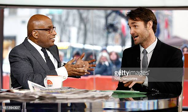 Al Roker and Will Forte appear on NBC News' Today show