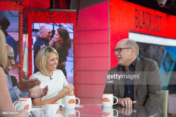 Al Roker Dylan Dreyer and James Spader on Thursday September 21 2017