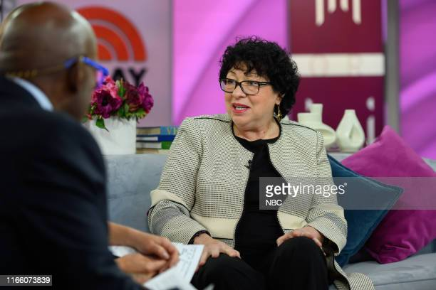 Al Roker, Dylan Dreyer and Justice Sonia Sotomayor on Wednesday, September 4, 2019 --