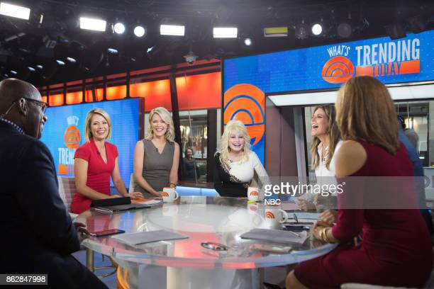 Al Roker Dylan Dreyer Megyn Kelly Dolly Parton Savannah Guthrie and Hoda Kotb on Monday October 16 2017