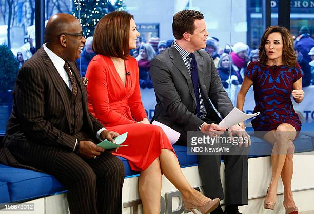 Al Roker Erica Hill Willie Geist and Kit Hoover appear on NBC News' 'Today' show