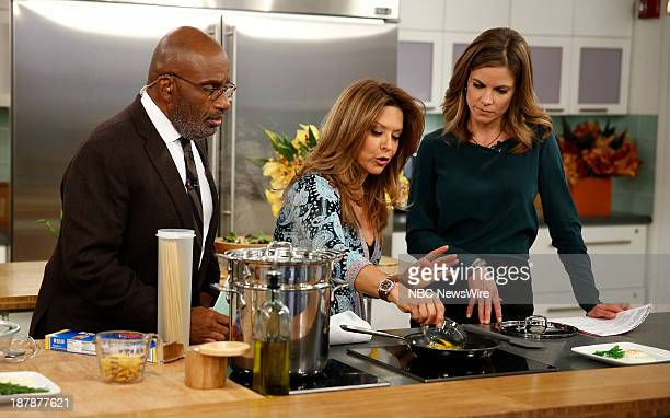 Al Roker Ingrid Hoffman and Natalie Morales appear on NBC News' Today show