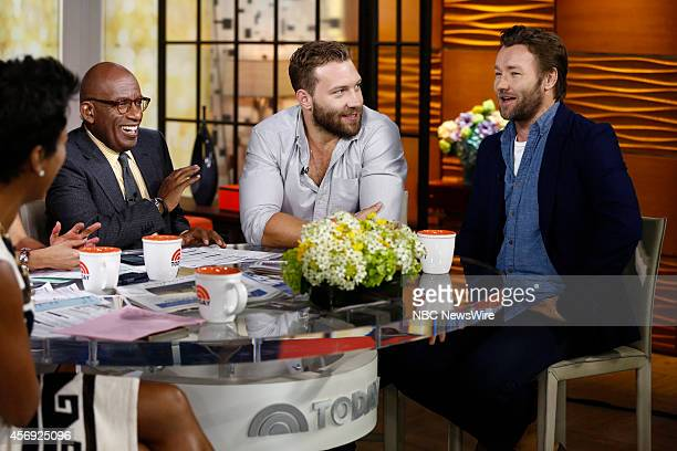 Al Roker Jai Courtney and Joel Edgerton appear on NBC News' 'Today' show