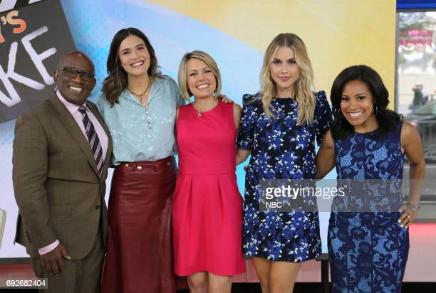 Al Roker Mandy Moore Dylan Dreyer Claire Holt and Sheinelle Jones on Monday June 5 2017
