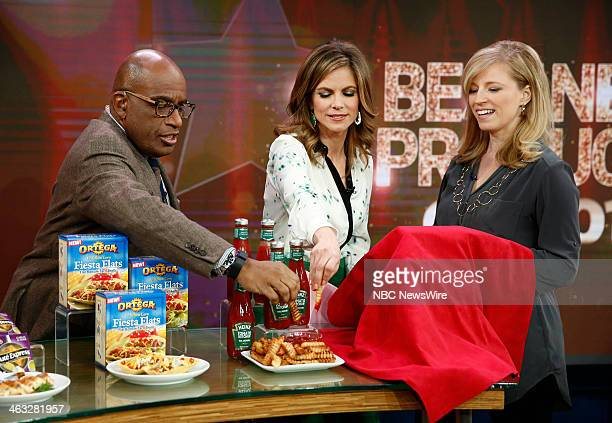 Al Roker Natalie Morales and Amy Panos appear on NBC News' 'Today' show