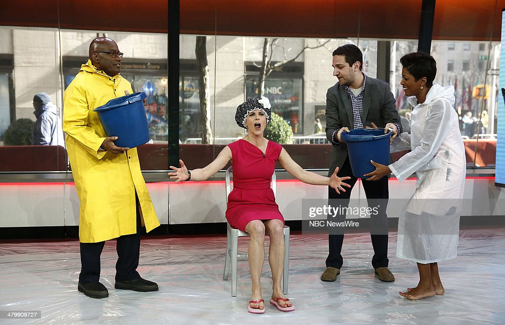 Al Roker, Natalie Morales and Tamron Hall appear on NBC News' 'Today' show --