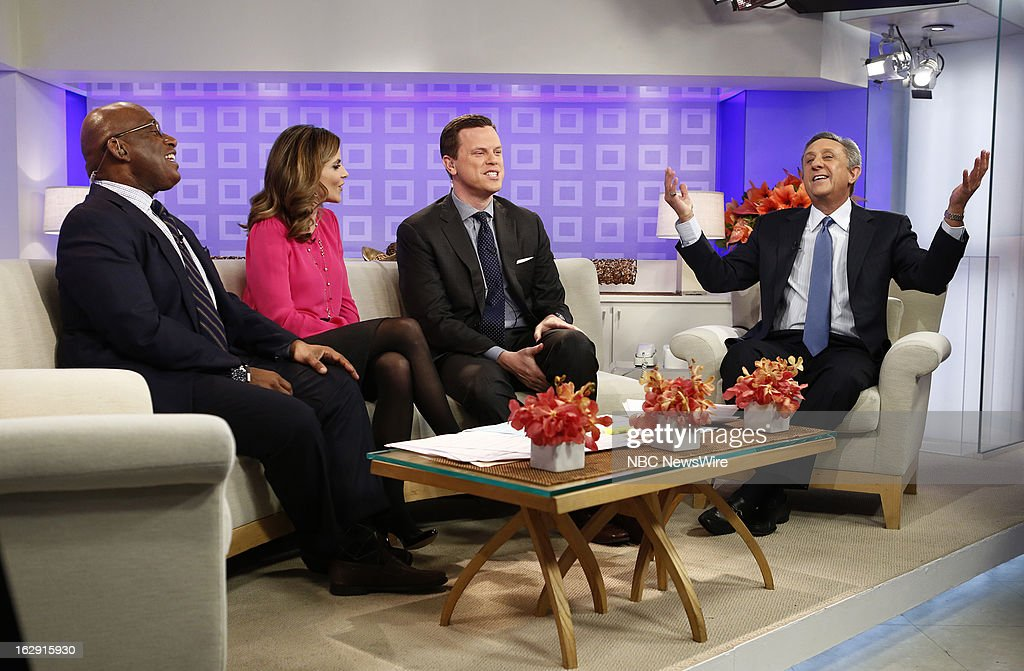 Al Roker, Natalie Morales, Willie Geist and Len Berman appear on NBC News' 'Today' show --