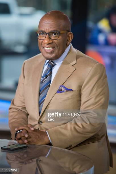 Al Roker on Monday Jan 29 2018