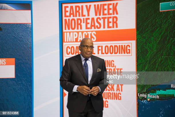 Al Roker on Tuesday March 13 2018
